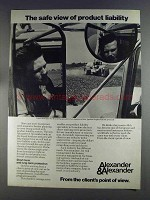 1980 Alexander & Alexander Ad - Product Liability