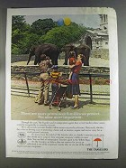 1980 The Travelers Insurance Ad - Prominent Families