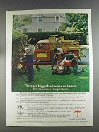 1980 The Travelers Insurance Ad - Bigger Businesses