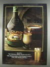 1980 Baileys Irish Cream Liqueur Ad - The Original