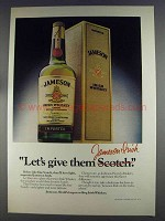 1980 Jameson Irish Whiskey Advertisement - Let's Give Them