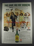 1980 J&B Scotch Ad - This Game Has 1102 Winners