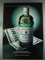 1980 Tanqueray Gin Ad - Wy Give The Common