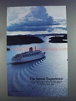 1980 Sitmar Cruise Ad - The Sitmar Experience