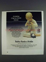 1980 Cybis Children to Cherish Collection Ad - Holiday
