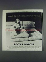 1980 Roche Bobois Sofa Ad - Most Exciting Furniture