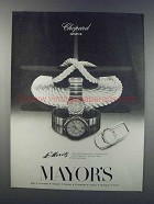1981 Chopard St. Moritz Watches Ad