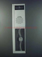 1981 Baume & Mercier Watch Ad - It Also Tells Time