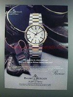 1981 Baume & Mercier Riviera Watch Ad - Take You