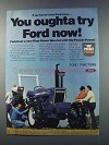 1981 Ford 7600 Tractor Ad - You Oughta Try Ford Now