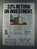1981 Butler Stor-N-Dry In-Bin Drying System Ad