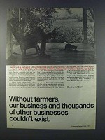 1981 Continental Grain Ad - Without Farmers
