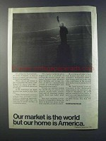 1981 Continental Grain Ad - Our Market is the World