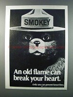 1981 U.S. Forest Service Ad - Smokey the Bear