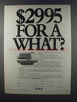 1981 Xerox 2300 Desktop Copier Ad - For a What?