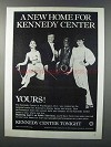 1981 PBS Kennedy Center Tonight Ad - A New Home
