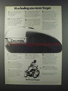 1981 Triumph Motorcycles Ad - Feeling You Never Forget