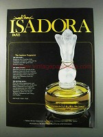 1981 Isadora Perfume Ad - The Isadora Fragrance