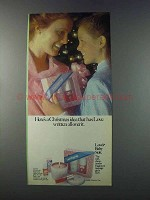 1981 Loves Baby Soft Fragrance Ad - A Christmas Idea