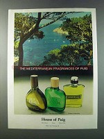 1981 House of Puig Agua Brava & Vetiver de Puig Ad