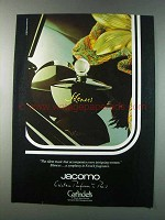1981 Jacomo Silences Perfume Ad - The Silent Music