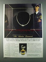 1981 Chimere Perfume Ad - $25,000 Worth of Diamonds