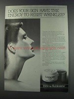 1981 Helena Rubinstein Existence Poly-Active Cream Ad