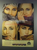 1981 L'erin Color True Powder Shadows Ad