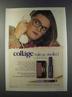 1981 Bonne Bell Collage Makeup Ad - Make-Up Simplified
