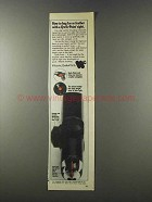 1981 Weaver Qwik-Point Sight Ad - Bag Fur or Feather