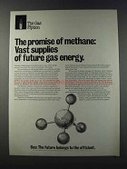 1981 AGA American Gas Association Ad - Methane