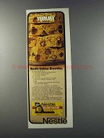1981 Nestle Semi Sweet Chocolates Ad - Golden Brownies