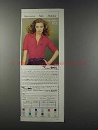 1981 Royal Silk Le Shirt Ad - Sensuous Silk Batiste
