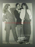 1981 Kasper Fashion Ad - Mutual