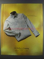 1981 A. Sulka & Co. Cotton Voile Broadcloth Shirt Ad