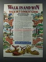 1981 Naturalizer Shoes Ad - Walk in and Win