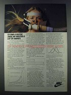 1981 Nike Shoes Ad - We Wasted a Lot of Energy