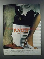 1981 Bally of Switzerland Shoes and Handbags Ad