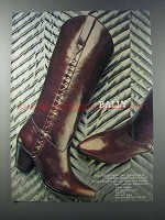 1981 Bally of Switzerland Boots Ad