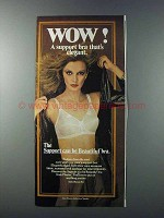 1981 Playtex Support Can be Beautiful Bra Style 764 Ad