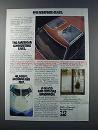 1981 PPG Ad - Solarcool, Nasatron, Twindow Xi Glass