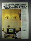 1981 RCA Colortrak 2000 Television Ad - For Masses