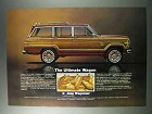 1981 Jeep Wagoneer Ad - The Ultimate Wagon
