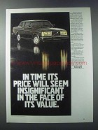 1981 Volvo Bertone Coupe Ad - Face of Its Value