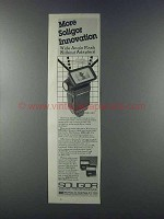 1981 Soligor MK24AS Flash Ad - More Innovation