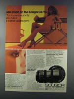 1981 Soligor 35-70mm Lens Ad - Jan Cobb