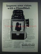 1981 Hasselblad Cameras Ad - Improve Your Vision