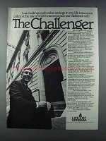 1981 Life of Virginia Ad - The Challenger