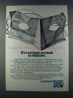1981 Maerican Bankers Association Ad - In Disguise