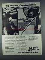 1981 Alexander & Alexander Ad - Product Liability